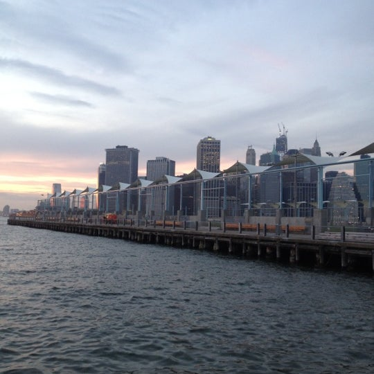 Photo taken at Brooklyn Bridge Park - Pier 6 by Mónica C. on 11/23/2012