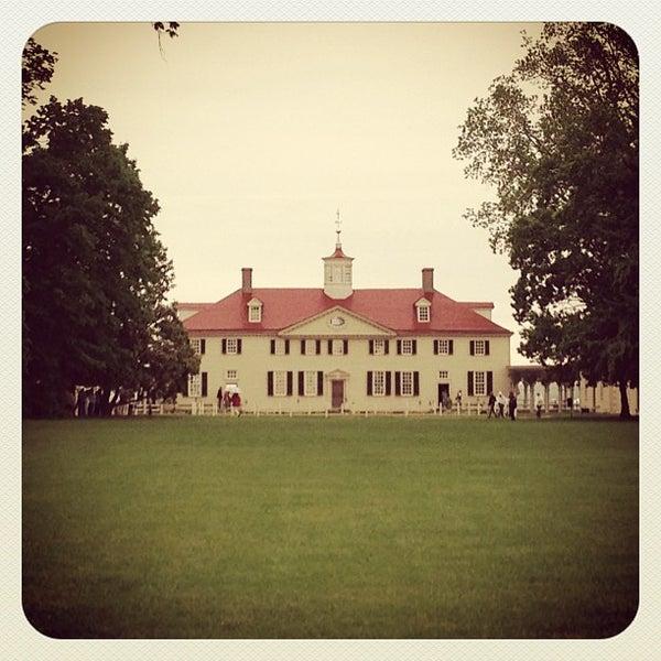 Photo taken at George Washington's Mount Vernon by Ashleigh D. on 5/18/2013