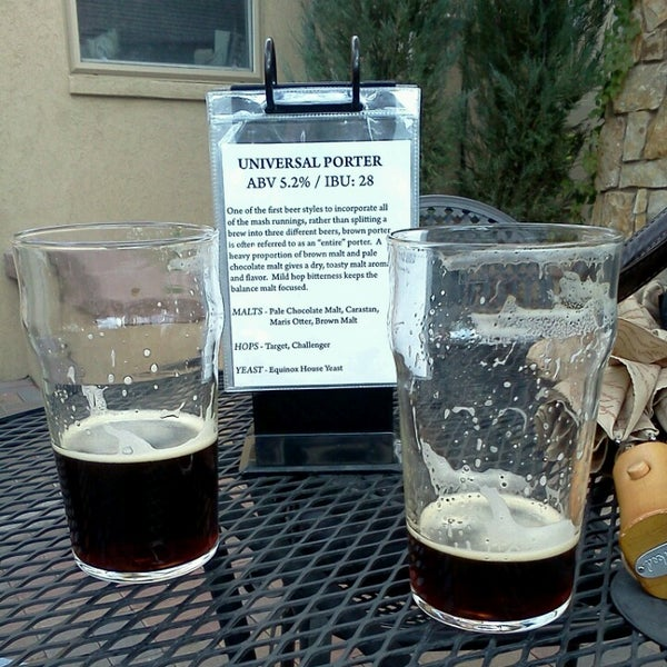 Photo taken at Equinox Brewing by alanqbristol on 10/27/2012