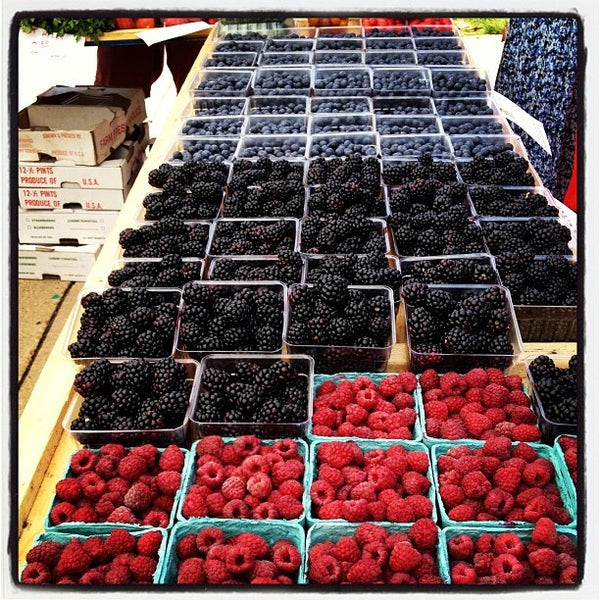 Photo taken at The Farmers Market at Maryland by Amy C. on 6/26/2013