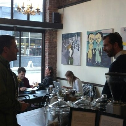 Photo taken at Coffeehouse Northwest by Ryan C. on 11/11/2012