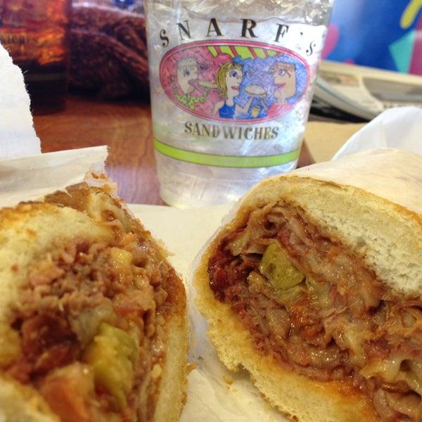 Denver Sandwich: Snarf's Sandwiches
