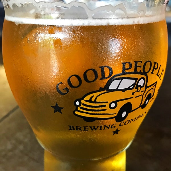Photo taken at Good People Brewing Company by Jon B. on 5/5/2018