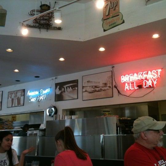 Photo taken at The Original Mel's Diner by Jack R. on 3/17/2013