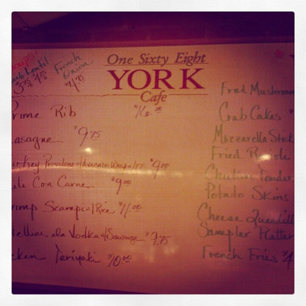 York St Cafe New Haven Ct