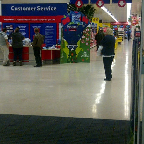 Photo taken at Tesco by Clive C. on 11/5/2012