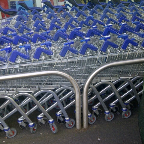Photo taken at Tesco by Clive C. on 6/13/2013