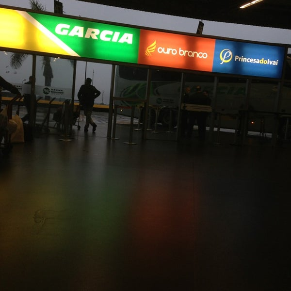 Photo taken at Terminal Rodoviário José Garcia Villar by Juliana A. on 6/26/2013