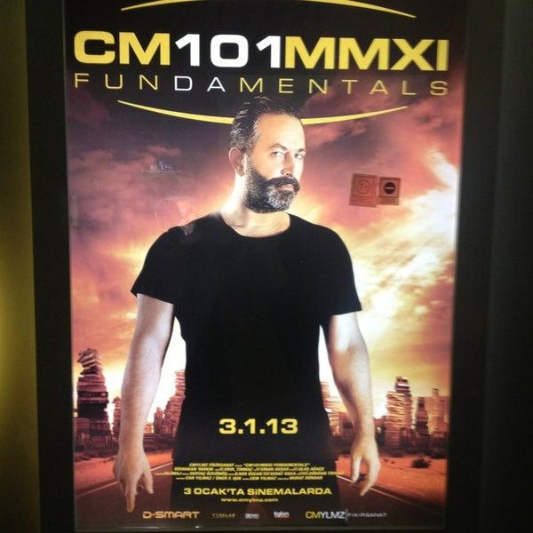 Photo taken at Cinemaximum by Gülsen on 1/13/2013