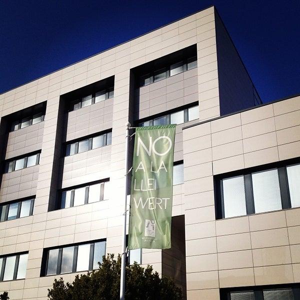 Photo taken at Universitat Jaume I (UJI) by Javier O. on 12/9/2013