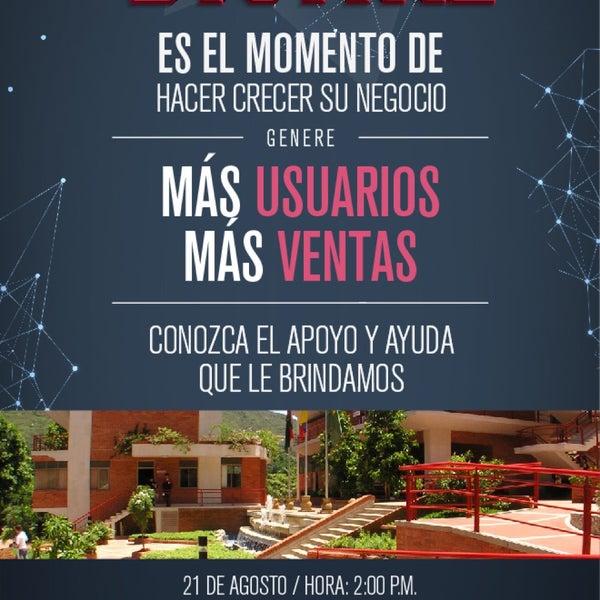 Photo taken at Universidad Pontificia Bolivariana - Seccional Bucaramanga by Ricardo A. on 8/21/2015