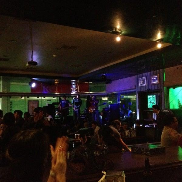 Photo taken at Dublin's Irish Pub by Enrique D. on 2/17/2013