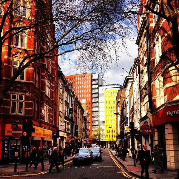 Photo taken at Foyles by Marc on 4/19/2013