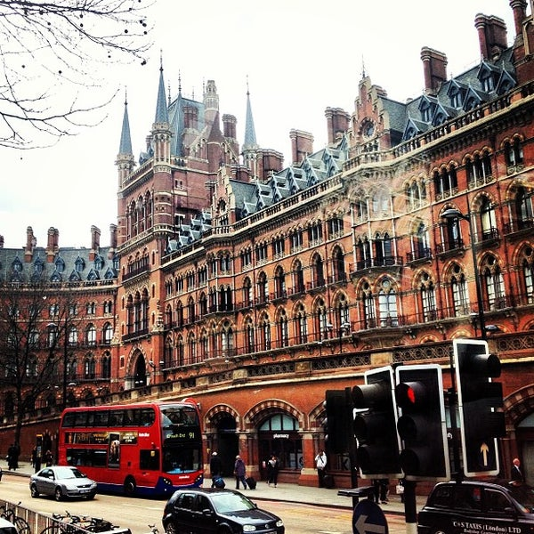 Photo taken at London St Pancras International Railway Station (STP) by Marc on 4/19/2013