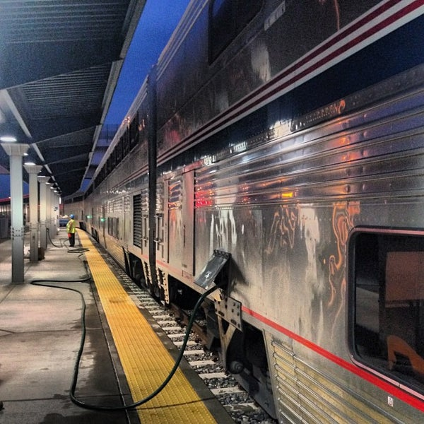 Photo taken at Denver Amtrak (DEN) by Daniel Eran D. on 8/18/2013