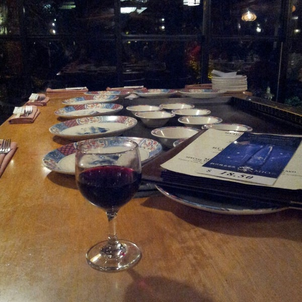 Photo taken at Mt. Fuji Japanese Steak House by Delia D. on 3/17/2013