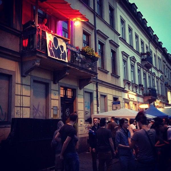 Photo taken at BRN - Bunte Republik Neustadt by Olga S. on 6/15/2013