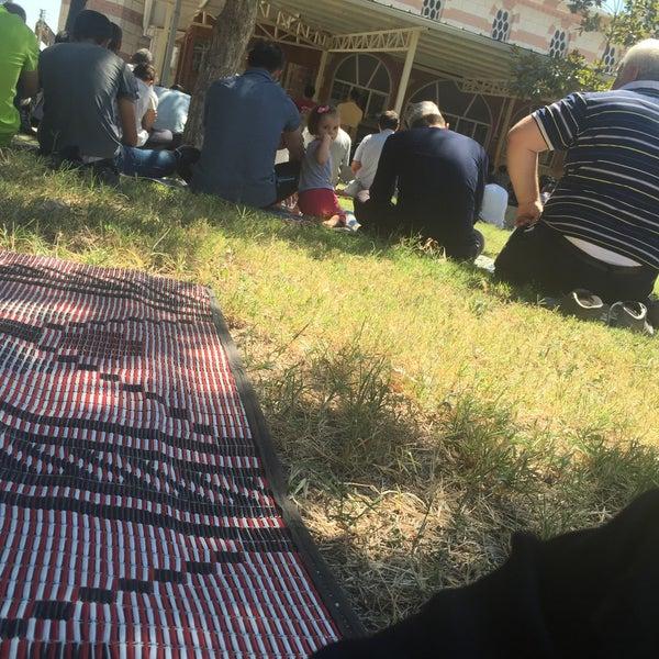 Photo taken at Hatuniye Camii by Doğukan F. K. on 8/28/2015