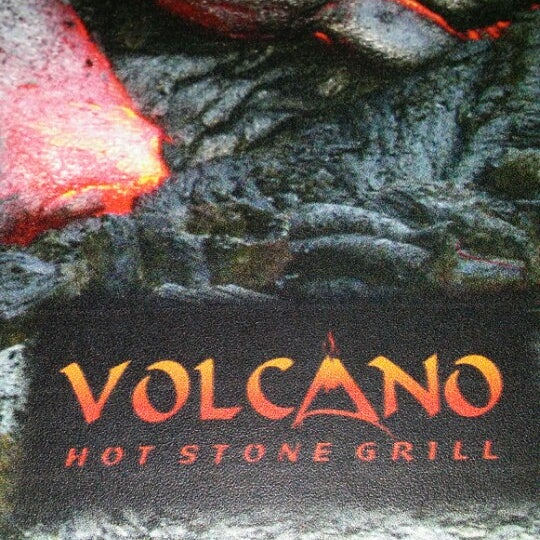 volcano hot stone grill now closed steakhouse. Black Bedroom Furniture Sets. Home Design Ideas