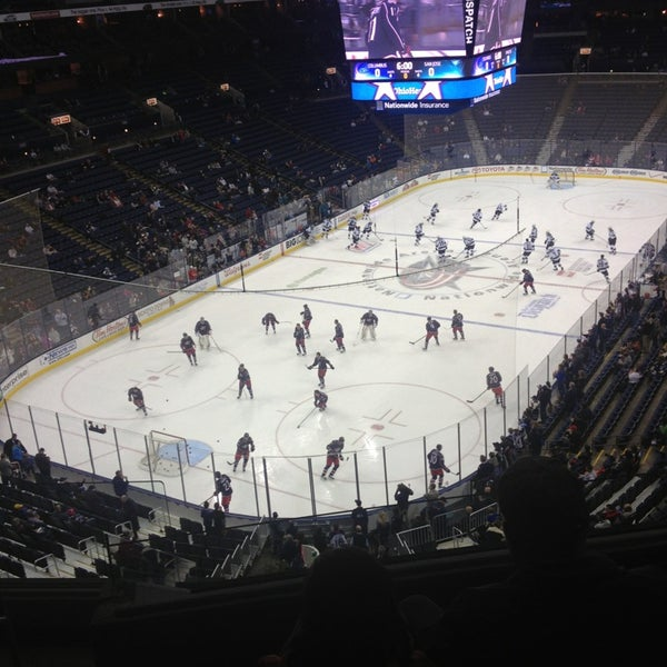 Photo taken at Nationwide Arena by Lyndi on 2/11/2013