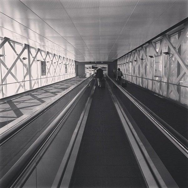 Photo taken at San Francisco International Airport (SFO) by Tarek P. on 10/15/2013
