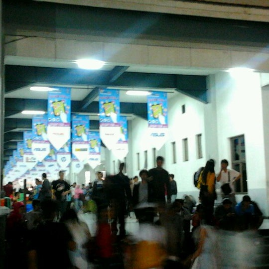 Photo taken at Jogja Expo Center (JEC) by Daniele G. on 10/1/2012