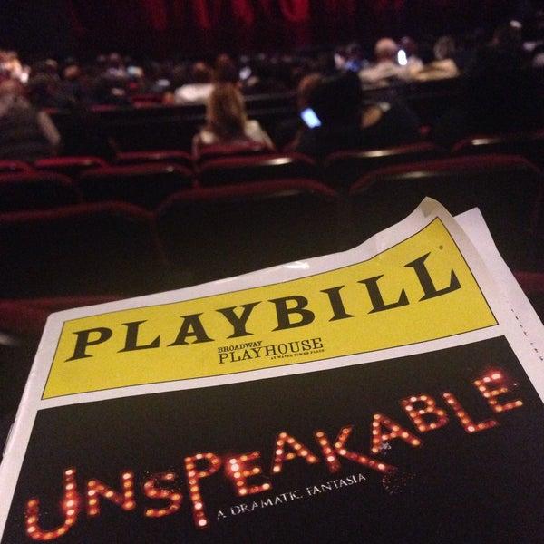 Снимок сделан в Broadway Playhouse пользователем Fox 10/10/2015