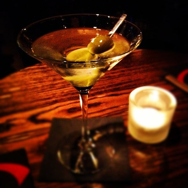 Photo taken at Christopher's Martini Bar by James on 11/2/2012