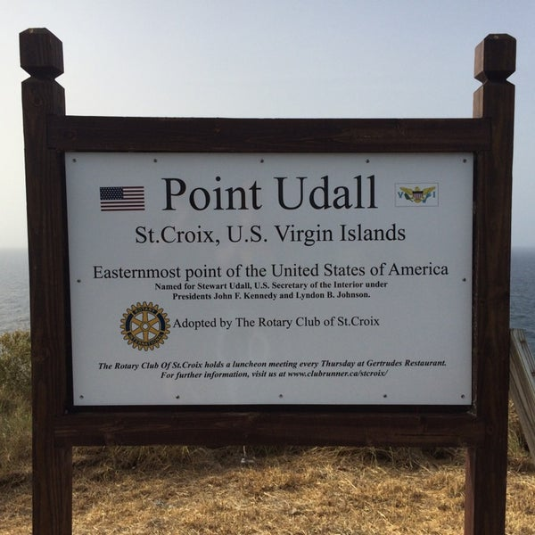 Photo taken at Point Udall by Jacob E. on 6/16/2014