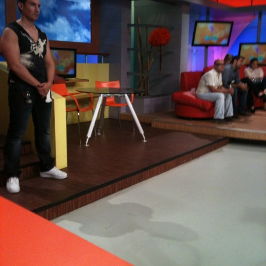 Photo taken at Multimedios Televisión by Moni A. on 10/12/2012