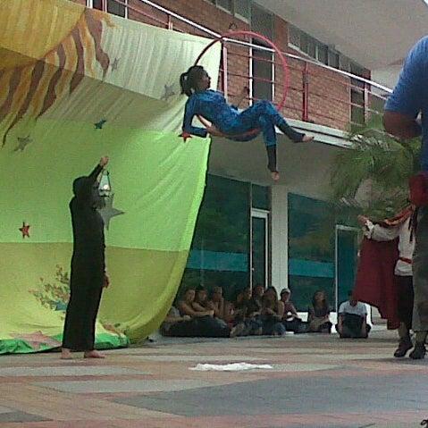 Photo taken at Universidad Pontificia Bolivariana - Seccional Bucaramanga by Paola M. on 9/19/2012