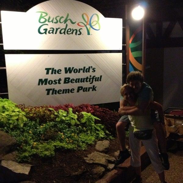 Photo taken at Busch Gardens Williamsburg by Jennifer T. on 7/6/2013