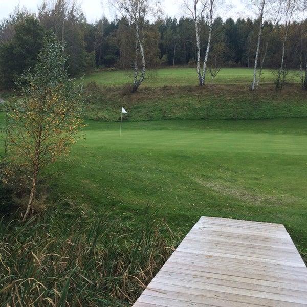 Photo taken at Ypsilon Golf Resort Liberec by Robert on 10/11/2014