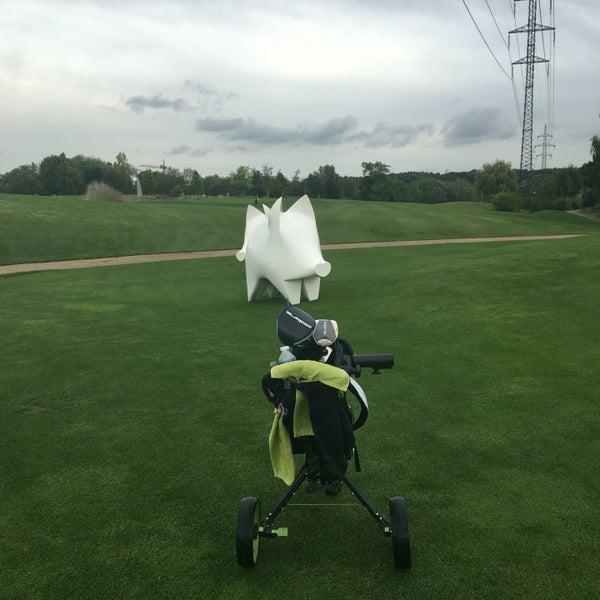 Photo taken at Golf Hostivař by Robert on 8/21/2016