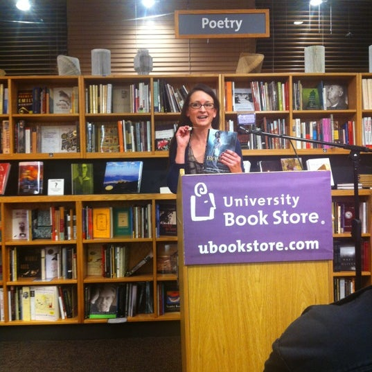 Photo taken at University Bookstore by Liz A. on 10/23/2012