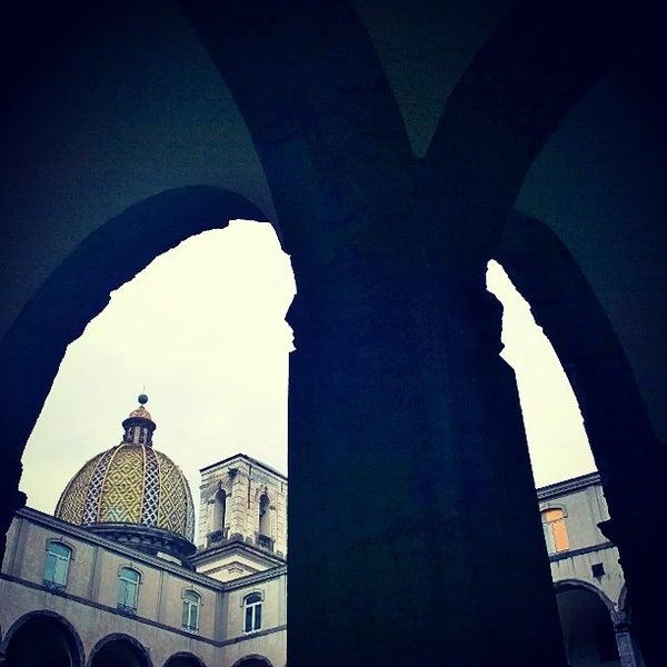 Photo taken at Calata Porta di Massa by Elvira R. on 2/26/2014
