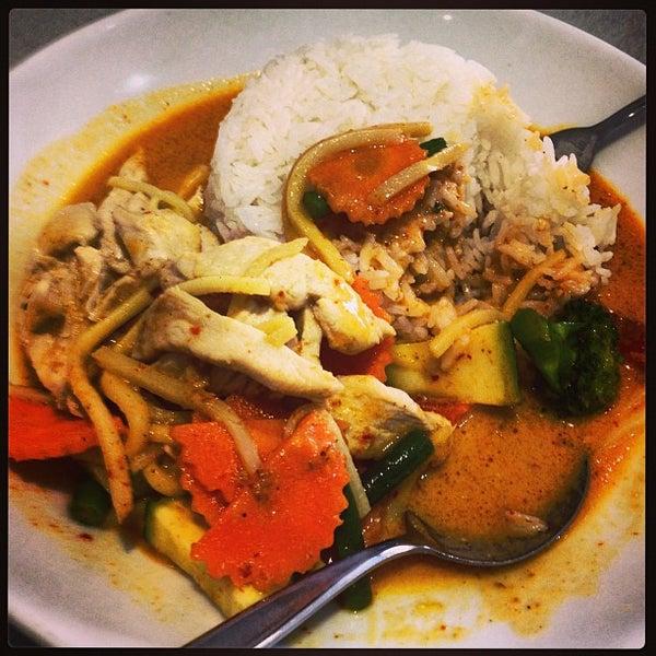 Photo taken at Taste of Thai by Gordon M. on 8/17/2013