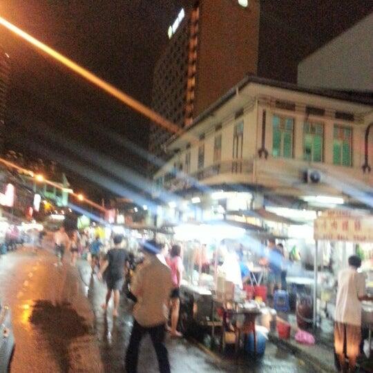 Photo taken at New Lane Hawker Stalls by 森特 文. on 9/24/2012