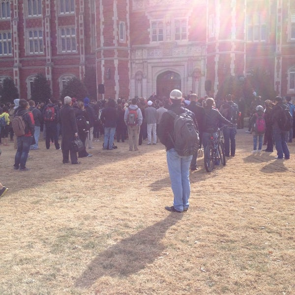 Photo taken at South Oval by Madster on 1/22/2014