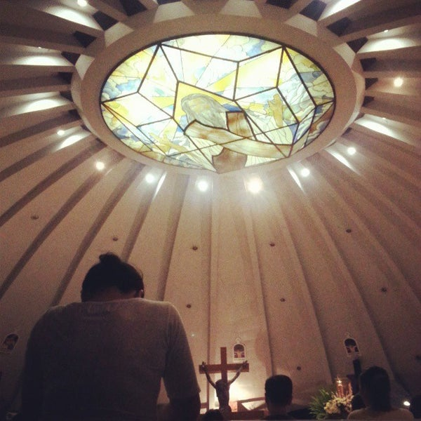 Photo taken at Sto. Niño de Paz Community Chapel by JRuiz F. on 3/28/2013
