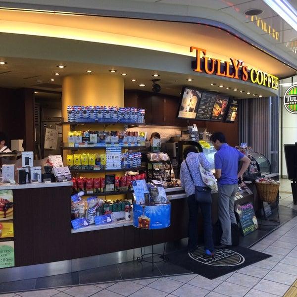 8/17/2014に銀河鐡道 ☆.がTULLY'S COFFEE 京急羽田空港駅店で撮った写真