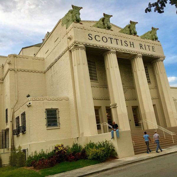 Masonic Temple Building Denver Colorado: Temple In Miami Central Business District