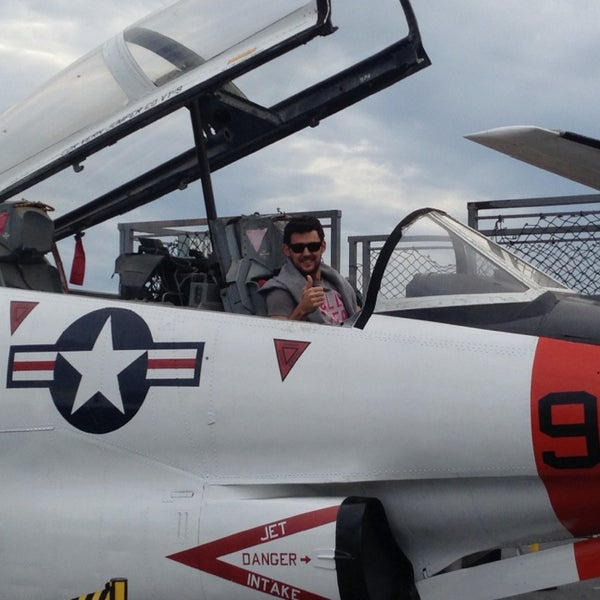 Photo taken at USS Midway Museum by Vinicius O. on 1/25/2013
