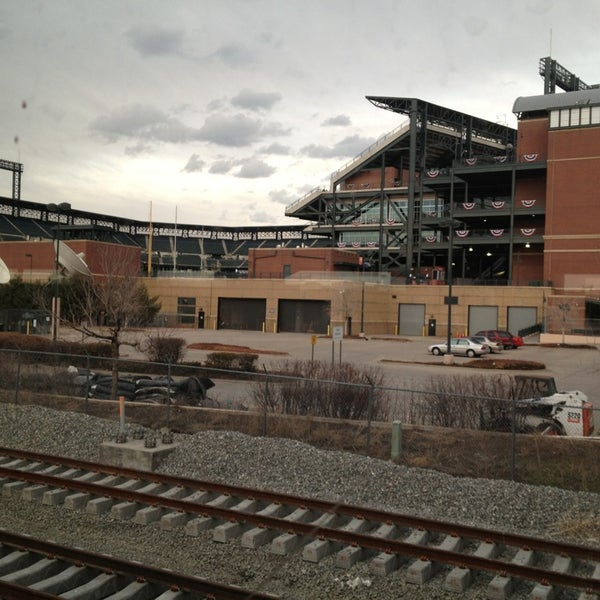 Photo taken at Denver Amtrak (DEN) by Joshua S. on 3/17/2013