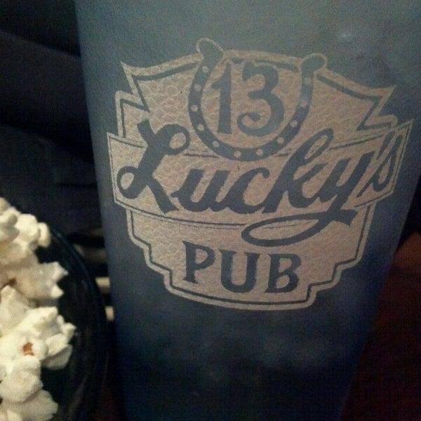 Photo taken at Lucky's 13 Pub by Nikki C. on 5/6/2013