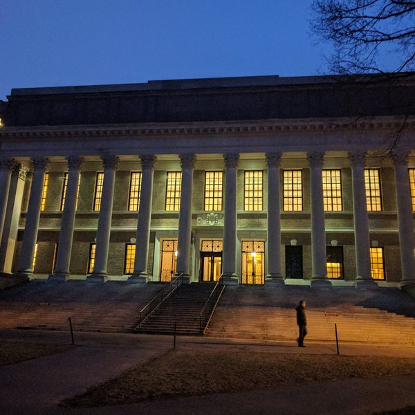 Photo taken at Widener Library by Gaby L. on 1/17/2017