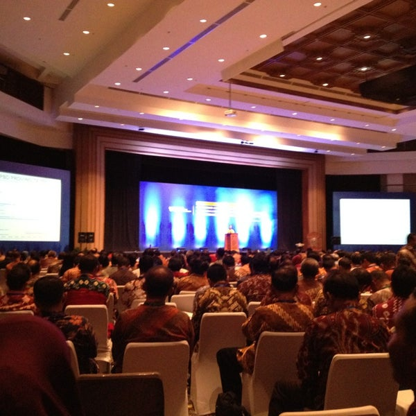 Photo taken at Bali International Convention Centre (BICC) by Ario P. on 12/7/2013