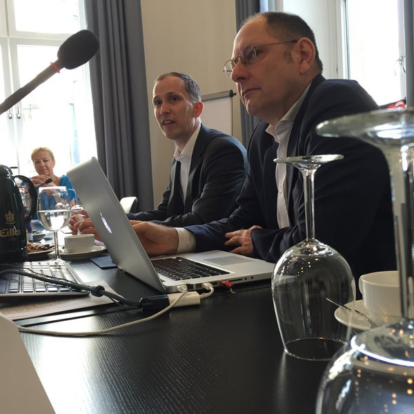 Photo taken at Hamburg Chamber of Commerce by Stefan S. on 6/3/2016