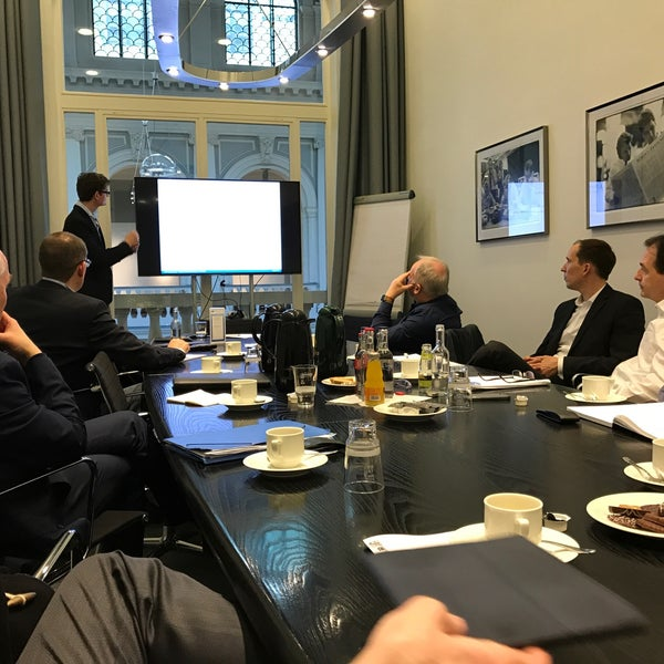 Photo taken at Hamburg Chamber of Commerce by Stefan S. on 12/9/2016