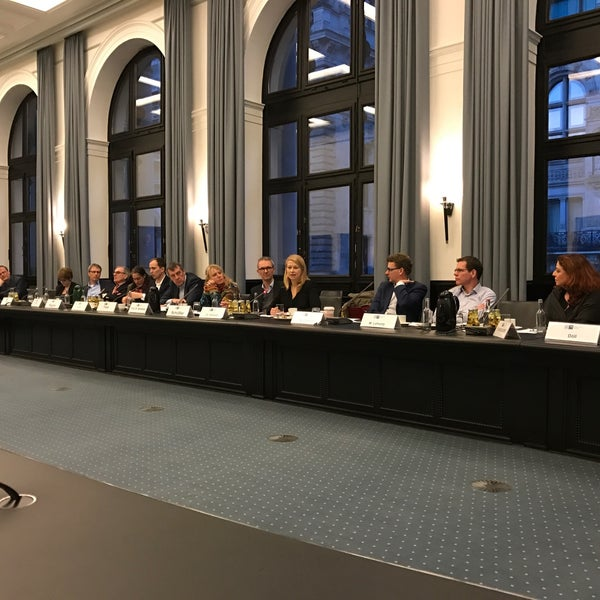 Photo taken at Hamburg Chamber of Commerce by Stefan S. on 2/9/2017